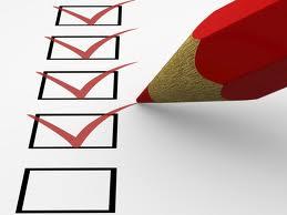 planning check list 1